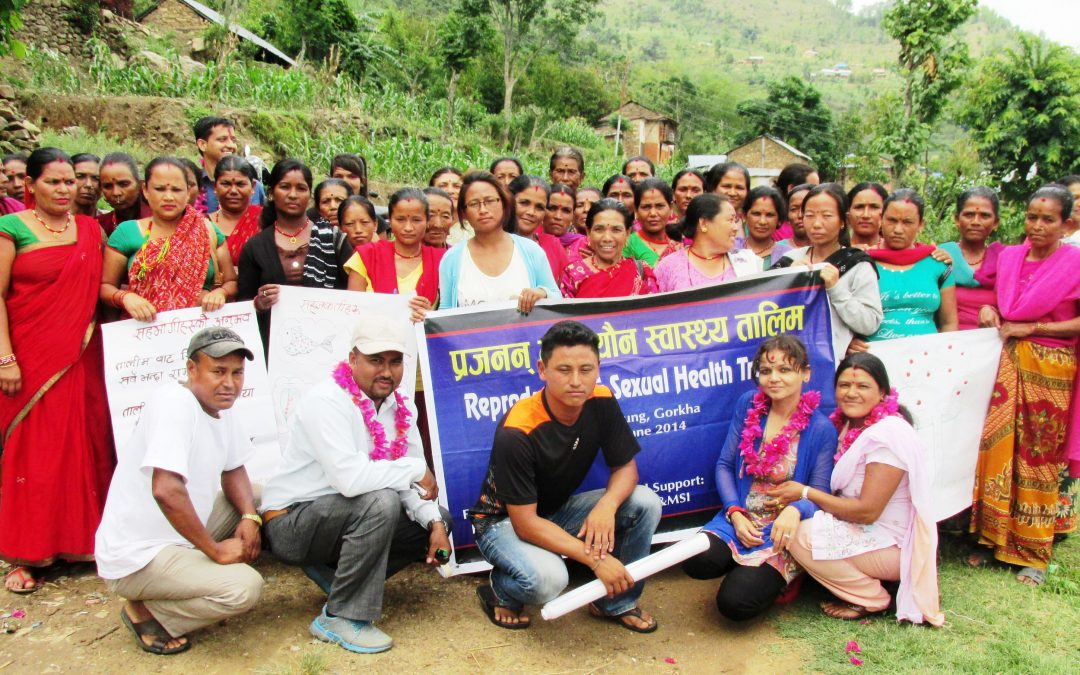 Reproductive Health Workshop in Taklung
