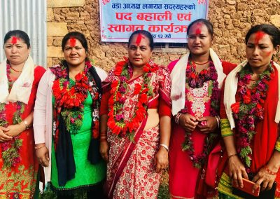 Elected women of Local election